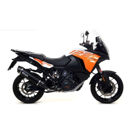 ARROW MAXI RACE-TECH ALUMINIUM 'DARK' E CARBONO KTM 1190/1290