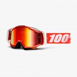 100% RACECRAFT FIRE RED...